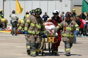 MCI Drill at the Monterey Regional Airport - May 17, 2013