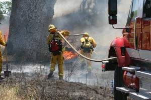 Wildland Firefighting Training - Fort Hunter Liggett, June 19, 2013