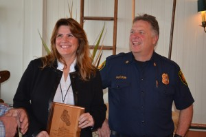 Special Recognition from the Monterey County Fire Chiefs Association to Renie Perrien from the Monterey County Fire Chiefs Association for her many years of dedicated service to public safety in Monterey County.